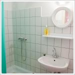 Fürdőszoba egy stúdióban