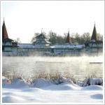 Tófürdő télen